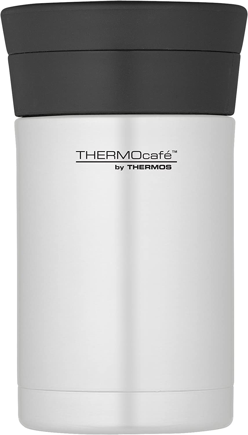 Thermos Thermocafe Darwin Stainless Steel Food Flask With Spoon 500ml