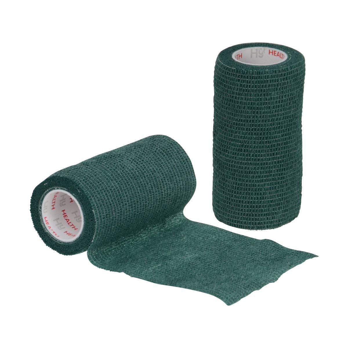 Plus Equine Cohesive Vetwrap Style Bandage - Special Offer!-Black The Saddlery Shop