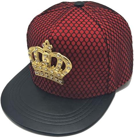 FXSYL Gorra de Beisbol Gorra para Mujer Snapback Hat King Crown ...