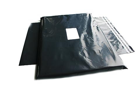 100 bolsas grandes para envíos postales, color gris, 43 x 61 ...
