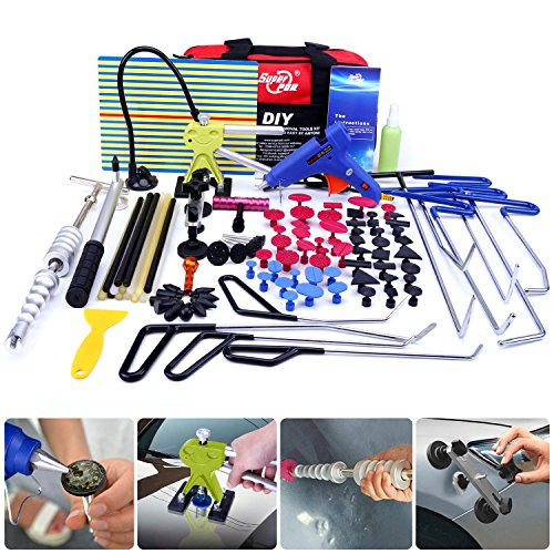 Super PDR Automotive Repair Tool Kits Paintless Dent Repair - 8