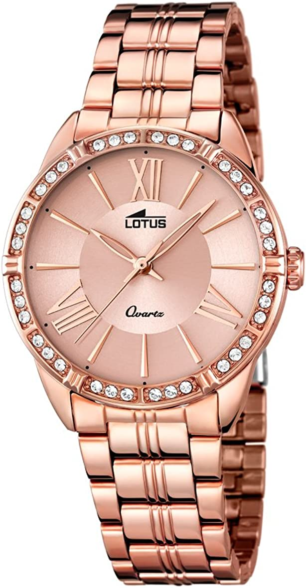 Lotus 18132/2 - Reloj de Pulsera Mujer, Color Dorado