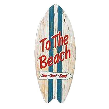 Tabla de surf imán de cerámica 10 cm