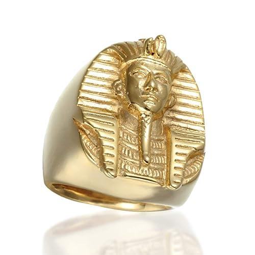 Amazon com: Pharaoh Ring - Ancient Egyptian Pharaoh Ring - Sterling