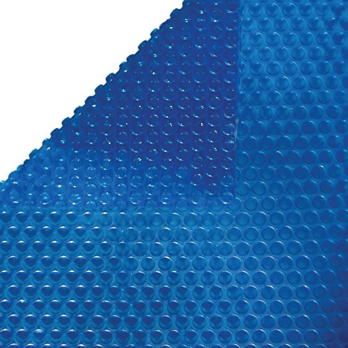 - Harris 12 ft x 24 ft Oval Solar Cover - Blue - 8 Mil