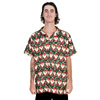 Island Style Clothing Father Xmas Mens Hawaiian Shirt Christmas