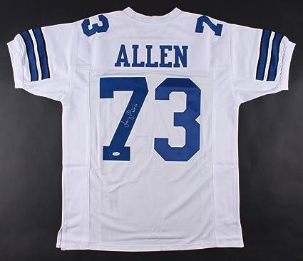 sports shoes fad6a fc0fb Larry Allen #73 Signed Dallas Cowboys Jersey Inscribed