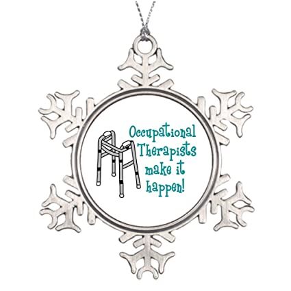 Ideas For Decorating Christmas Trees OCCUPATIONAL THERAPISTS Snowman  Snowflake Ornaments - Amazon.com: Ideas For Decorating Christmas Trees OCCUPATIONAL