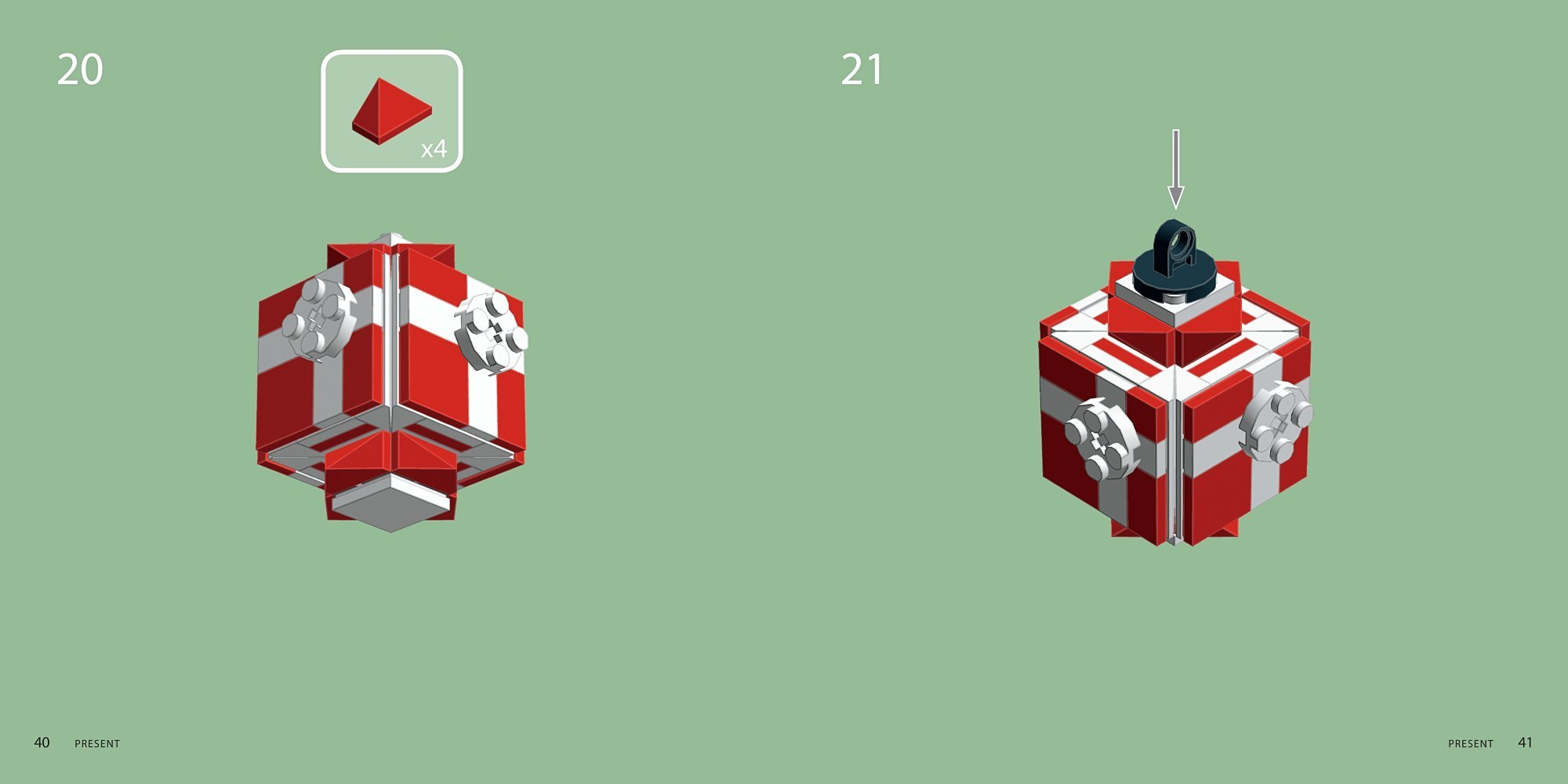 The LEGO Christmas Ornaments Book: 15 Designs to Spread Holiday ...