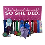 Medal Display - SHE Believed SHE Could, SO SHE