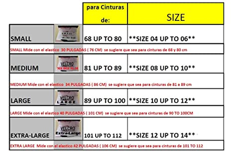 Amazon.com: Faja de yeso Reductora Plaster Corset Yesoterapia 100% Original (MEDIUM): Health & Personal Care