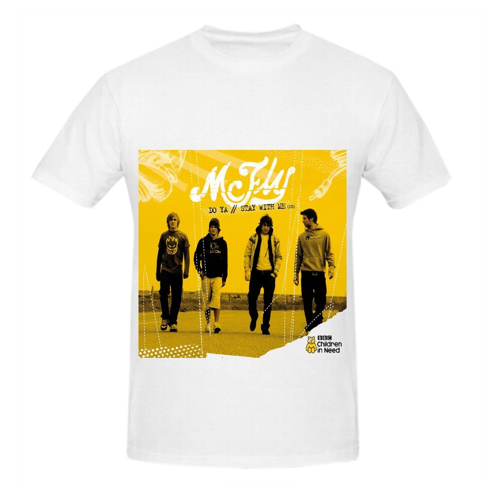 Mcfly Do Ya Stay With Me Tour Soundtrack S Crew Neck Casual Ts Shirts