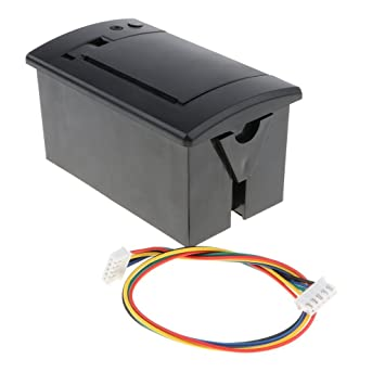 Baoblaze 1 Pieza Impresora térmica 5 Pinzas Cable de Alimentación ...