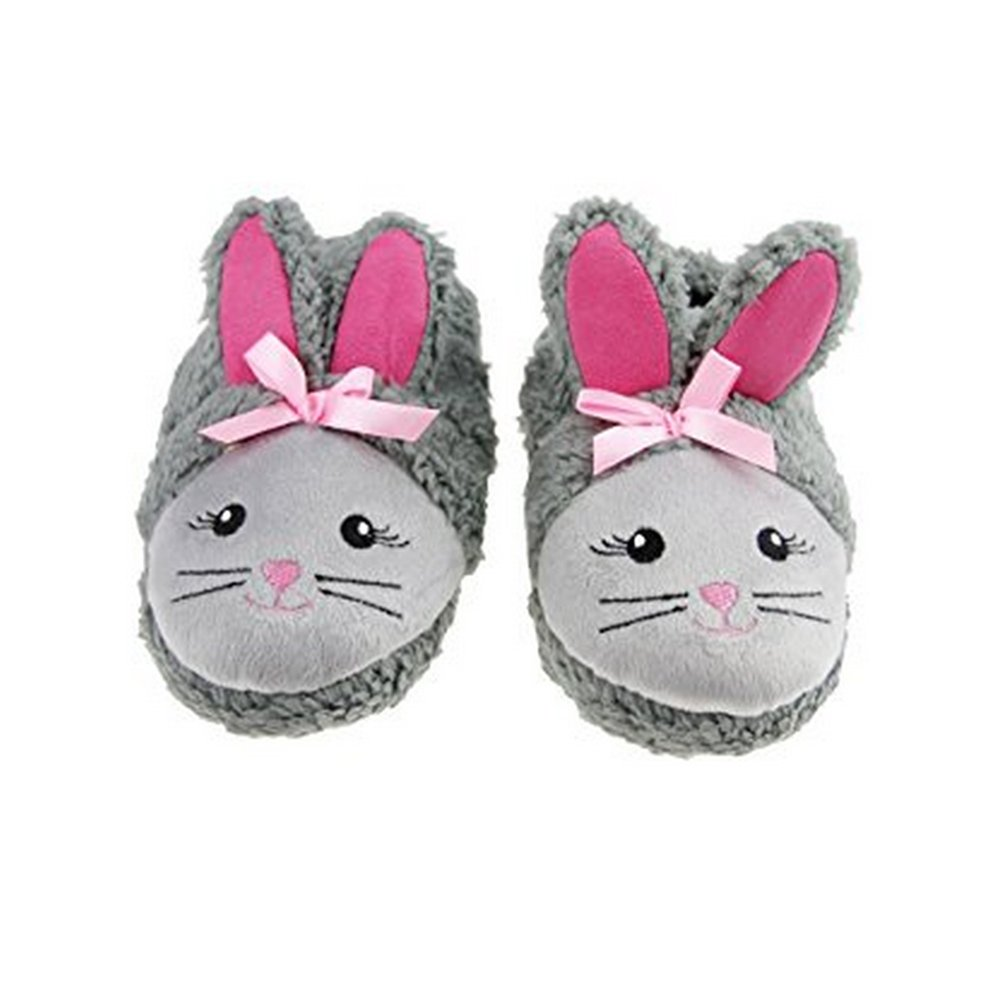 Ztl Rabbit Style Soft Warm Shoes Indoor House Slippers for Children Kids