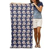 Skull Poker Pattern Adults Cotton Beach Towel 31'' X 51''