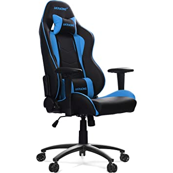 Akracing Gaming Stuhl NITRO blau/schwarz: Amazon.de: Küche & Haushalt