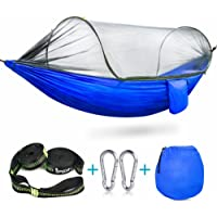 iSpecle Outdoor Travel Hammock with Mosquito Net
