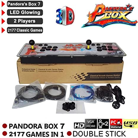 Waroomss Pandoras Box 7 3D Home Arcade Game Console | Incluye ...