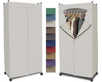 Amazoncom Portable Wardrobe Closet w Premium Cotton CanvasDuck