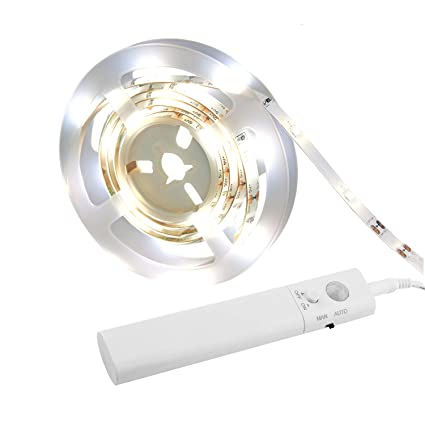 Amagle LED Dual Mode Motion Night Light, Flexible LED Strip With Motion  Sensor Closet Light