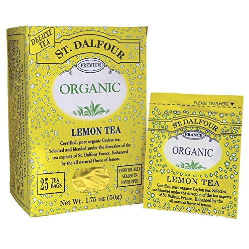 Lemon Tea (Organic) St. Dalfour 25 Bag