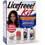 Licefreee Kit All-In-One Complete Lice Killing Treatment, Daily Maintenance Shampoo & Professional Nit Comb In One Box…