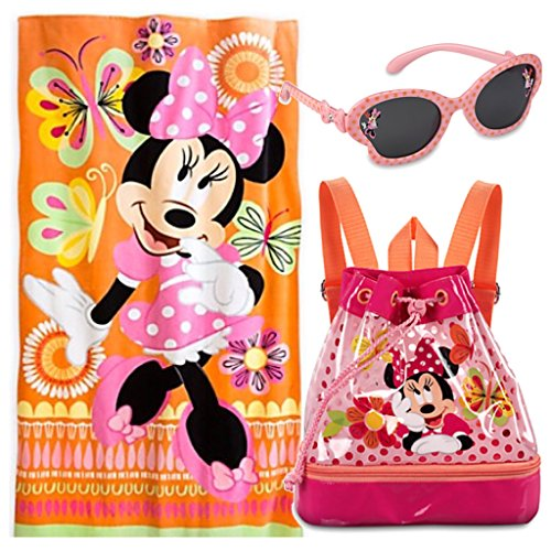 1fdf7bb4a2d6 Disney Minnie Mouse Kids 3 Piece Swim Set - Swim Bag