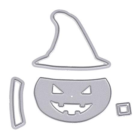dairyshop adornos navideños Cutting Dies corte de calabaza de Halloween Molde Moldes Moldes Artwork Embossing álbum