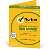 Norton Security Standard Antivirus Software 2018 / Anti-Virus Protection for 1 Device (One-Year Licence) / Download for Mac, Windows, iOS and Android