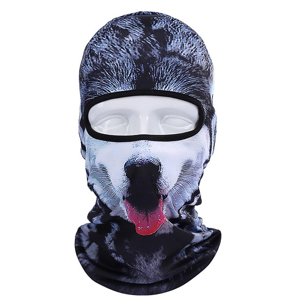 Full face mask neck warmer hood balaclava outdoor winter sports hats - Amazon Com 3d Animal Cycling Bike Outdoor Sports Ultra Thin Balaclava Face Mask Neck Warmer Bear Sports Outdoors