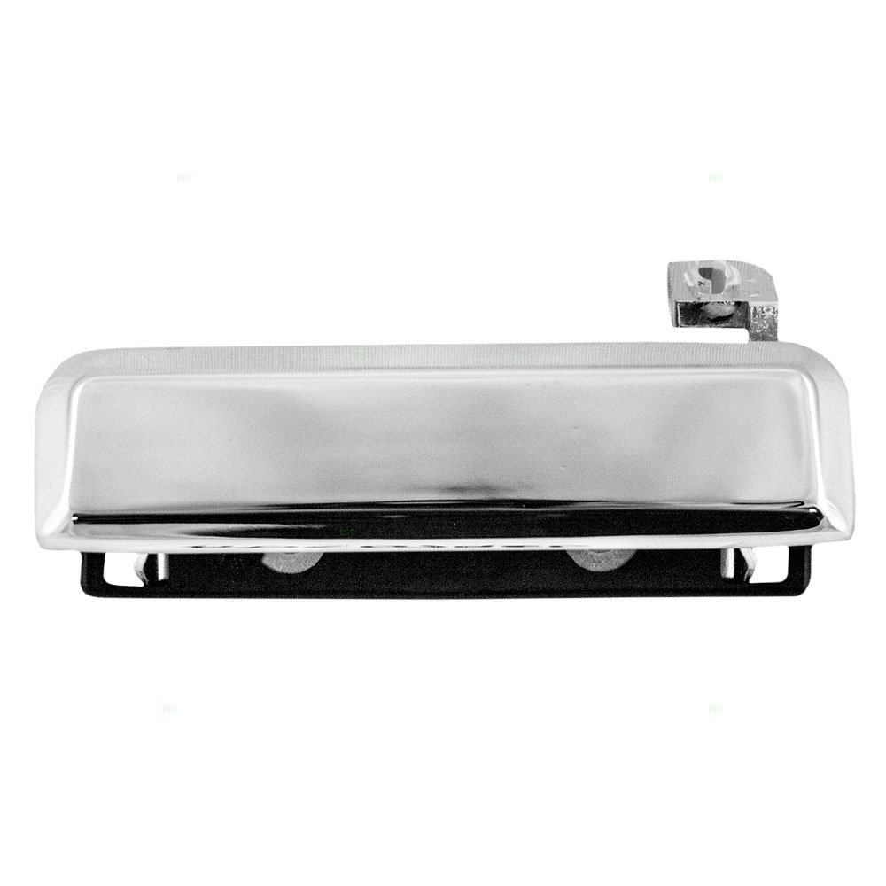 Door Handle Black Front Pair Outside Exterior for Ford Ranger Escort Mustang