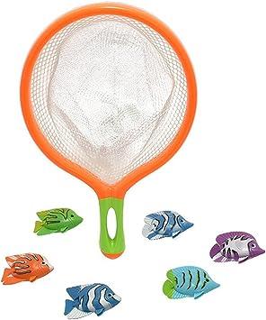 TOYLAND® M.Y Splash Atrapa el Pez Juego de Buceo con 6 Peces y Red: Amazon.es: Juguetes y juegos