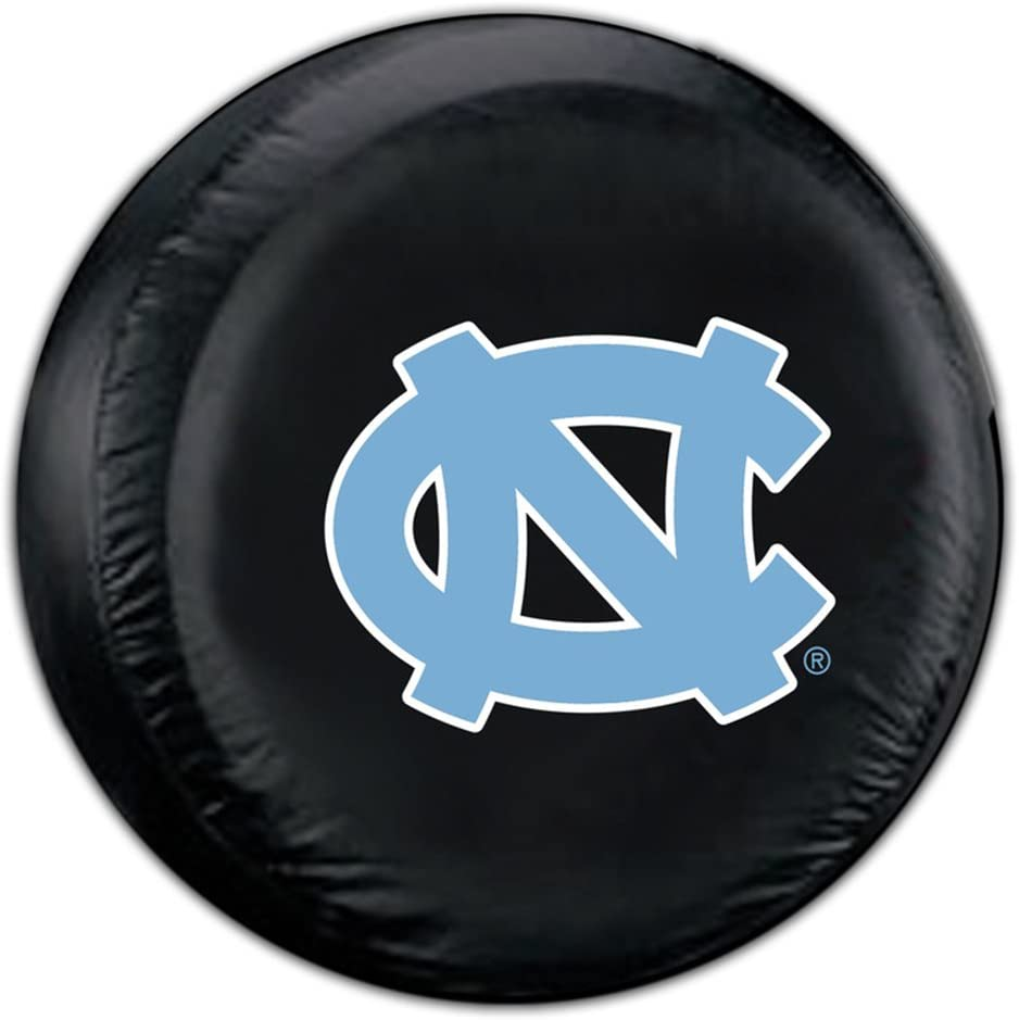 North Carolina Tar Heels NCAA Logo Vinyl For Spare Tire Cover Decal Wheel Cover