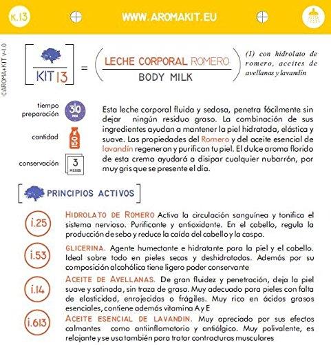 KIT Cosmética DIY 3x1 CORPORAL: GEL de BAÑO