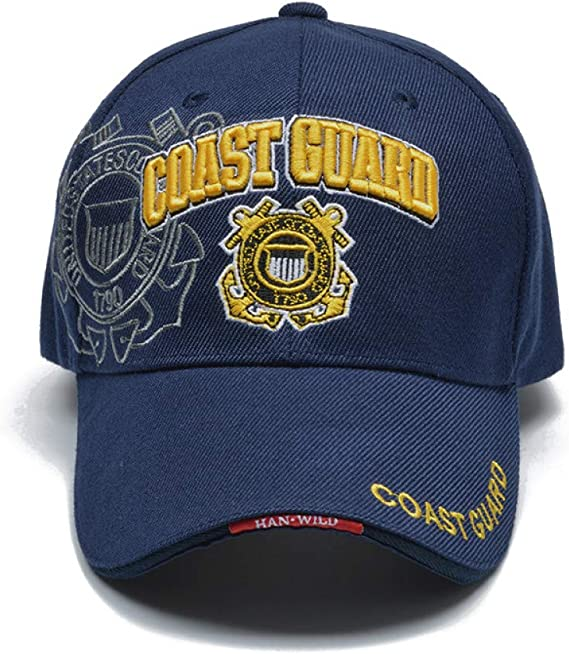 FHSOHG Casual USA Guardacostas Ejército Gorra de béisbol Bones Us ...