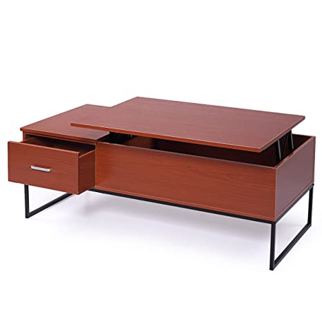 Amazoncom End Table Lift Top Coffee Table With Storage