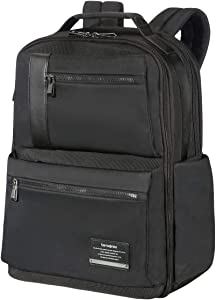 Samsonite OpenRoad Laptop Business Backpack, Jet Black, 17.3-Inch