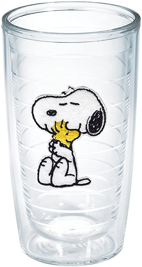 tervis peanuts snoopy and woodstock tumbler 16 ounce