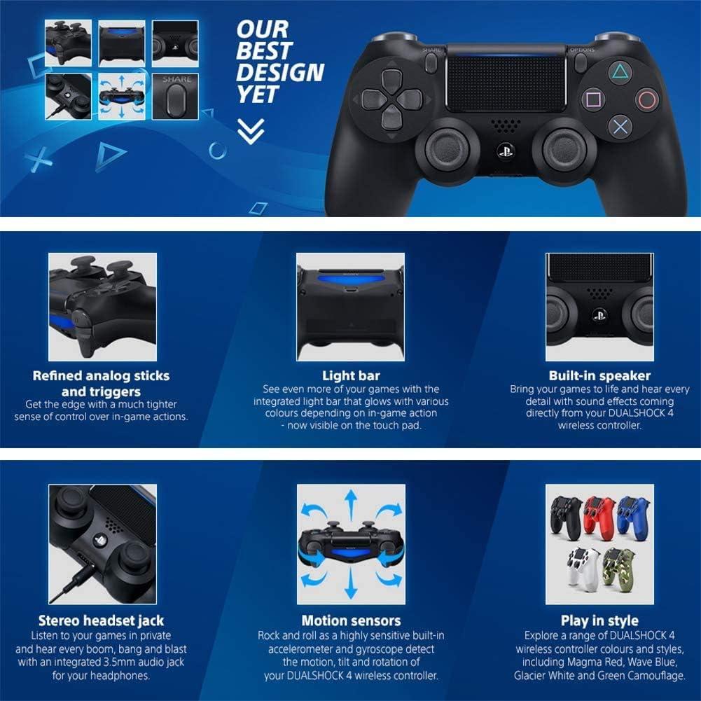SXHX Controlador inalámbrico DualShock 4 para Playstation 4-AlpineGreen: Amazon.es: Electrónica