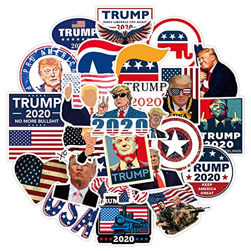 🥇 America President Trump Stickers for Adult Teen