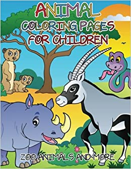 Animal Coloring Pages For Children Zoo Animals And More Speedy
