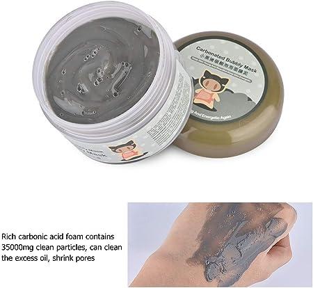 Mascarilla de Arcilla de Burbujas Carbonatada, MS.DEAR Mascarilla Exfoliante Facial, Blanqueamiento y Hidratación, Deep Cleansing Mascarilla de poros, Kit de Máscara Facial de Burbujas