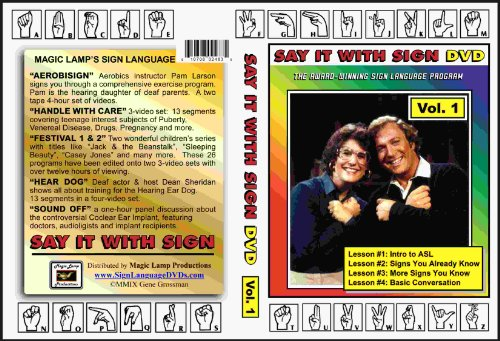 Say it With Sign - Volume 1: Lessons 1, 2, 3 and 4
