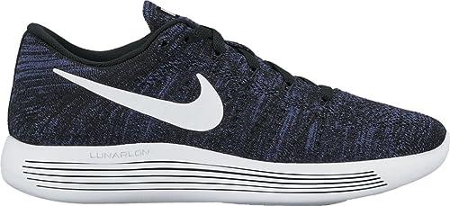 info for 384c1 c43d6 Nike LUNAREPIC LOFLYKNIT womens running-shoes 843765-005_5 - BLACK/WHITE-DK  PURPLE DUST