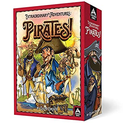 Forbidden Games Extraordinary Adventures: Pirates!: Toys & Games
