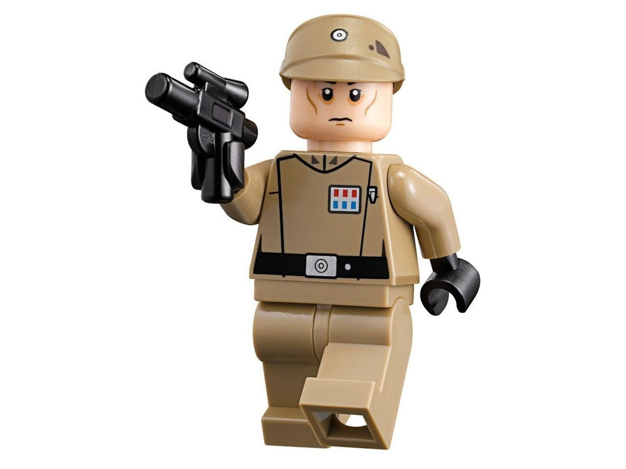 Amazoncom Lego Star Wars Imperial Officer Minifigure From Set