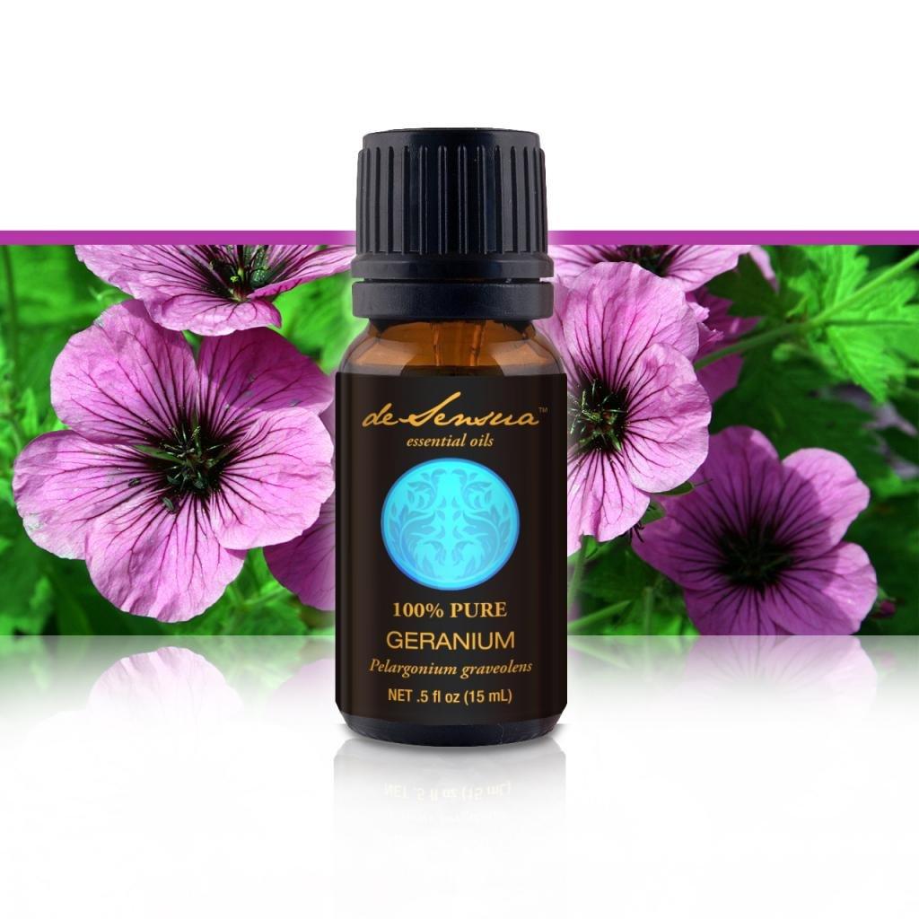 Geranium Essential Oil, Egyptian, 100% Pure, 15 ml
