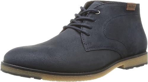 Aigle Dixon Mid, Chaussures à lacets homme Bleu (Navy), 40