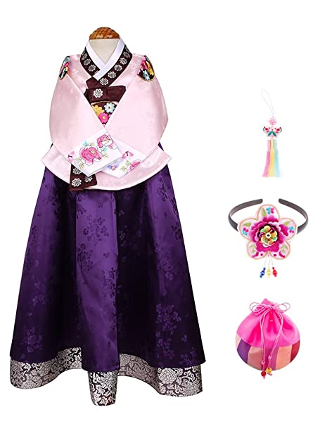 Amazon com: Skyroad Korean Traditional Hanbok Set for baby