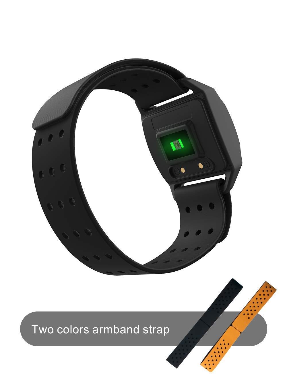 Coospo Heart Rate Armband Sensor Bluetooth Ant Waterproof 38cm Armband 1 15ft Or 1 25ft 35cm Heart Rate Monitors